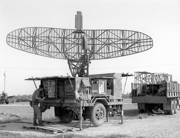 Hawk Missile Radar