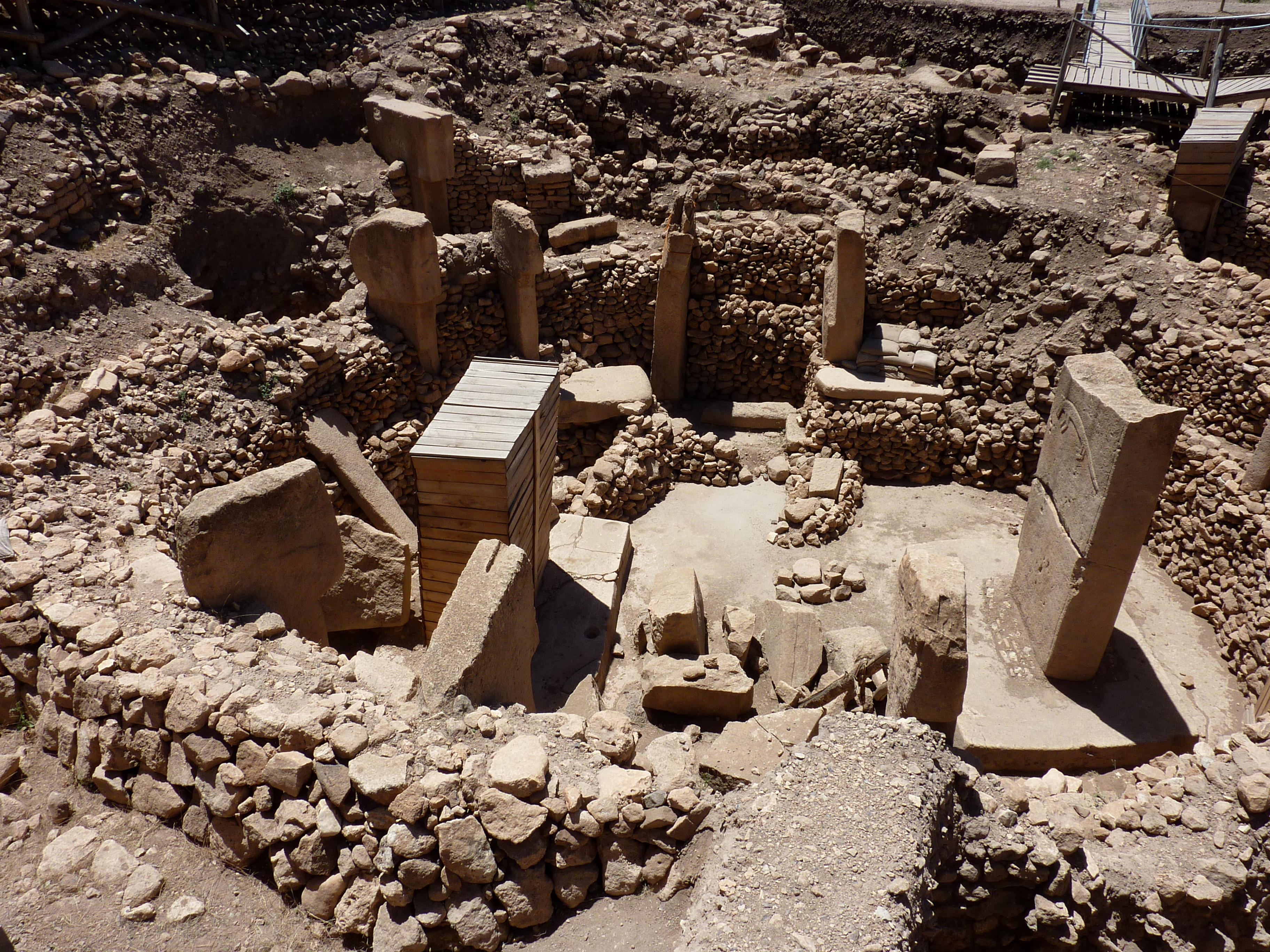 Temple Excavation