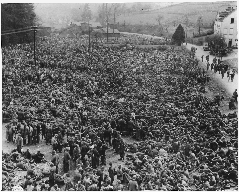 Captured Germans WW2