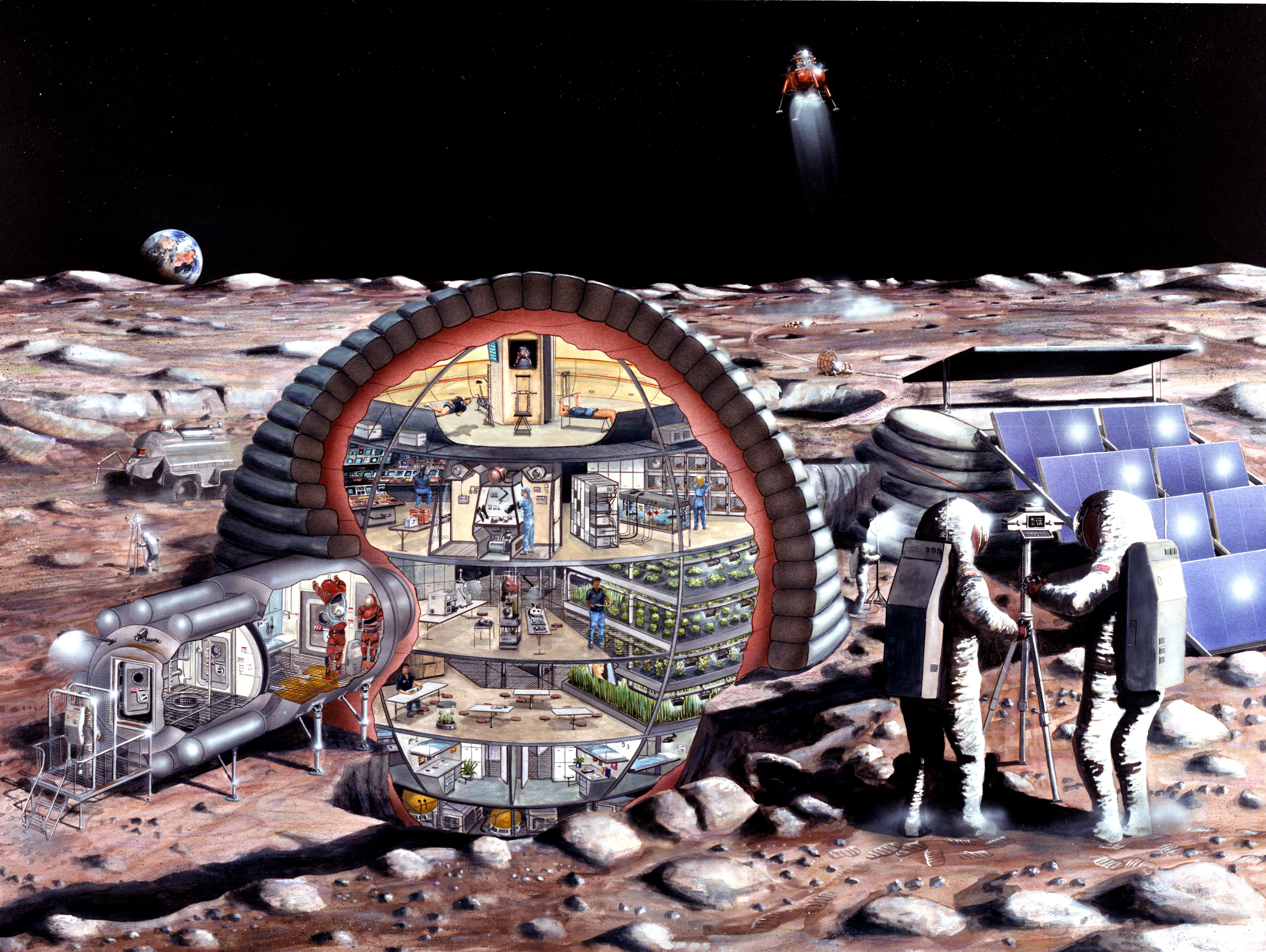 Future Moon Outpost