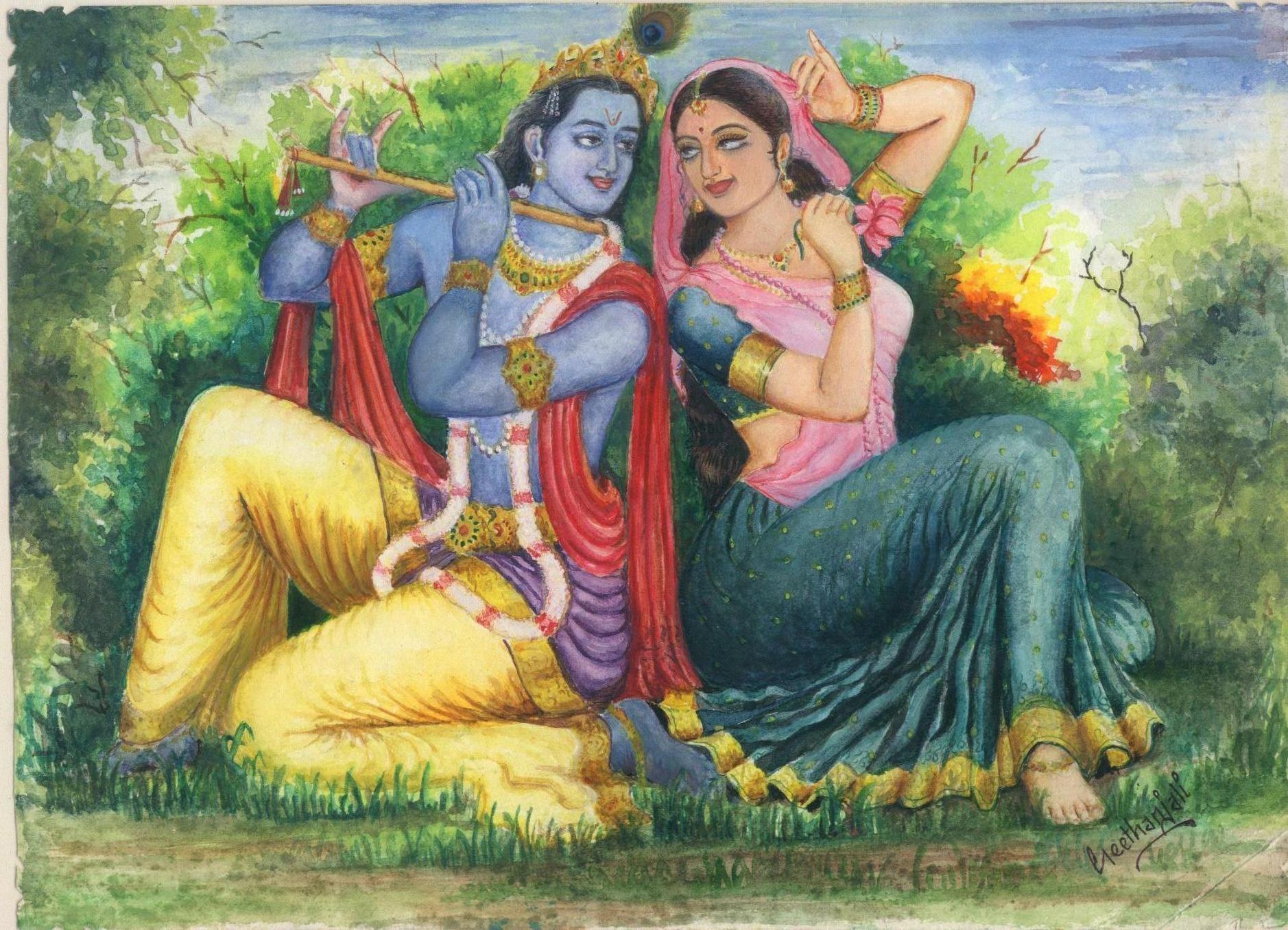 Krishna Depiction