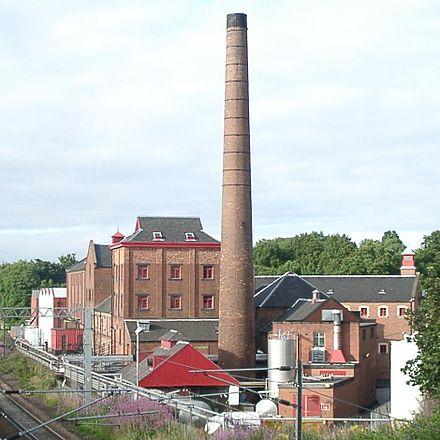 Công ty sản xuất bia Caledonian Brewery, thành lập năm 1869, Edinburgh, Scotland
