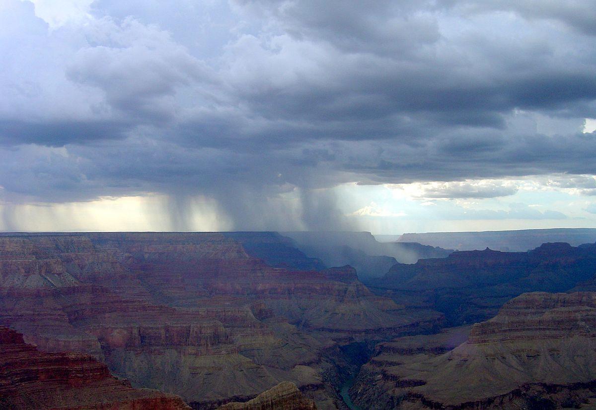 Rain in Arizona