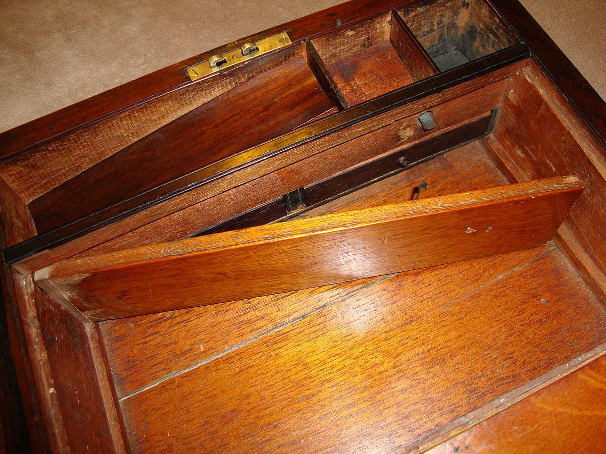 Hidden Compartment in Desk