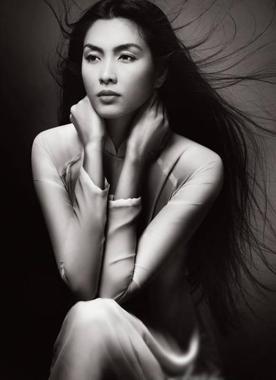Tăng Thanh Hà hư ảo trong bộ ảnh 'Rừng xưa' - VnExpress Giải trí