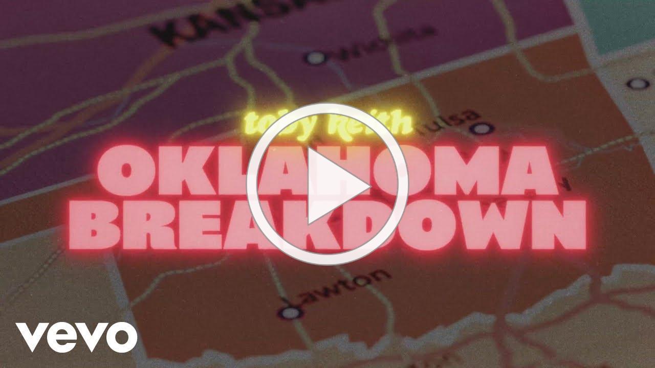"Toby Keith ""Oklahoma Breakdown"" (official lyric video)"