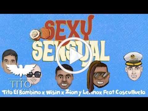 Tito El Bambino x Wisin x Zion & Lennox - Sexy Sensual feat. Cosculluela (Pseudo Animated Video)