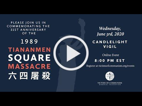 Tiananmen Square Massacre Candlelight Vigil