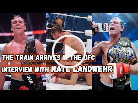 The Train arrives in the UFC | Interview with Nate