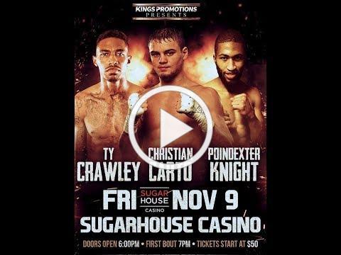 King's Promotions Press Conference, November 7, 2018 (Carto vs Rodriguez)