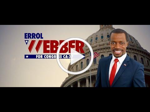 Errol Webber For Congress - Open Up America