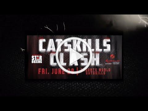 CATSKILLS CLASH: Laureano, Moran, Rivera June 28th