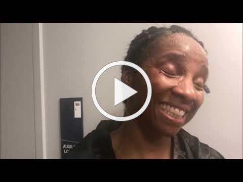 Tori Nelson talks about win over Sanna Turunen