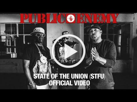 PUBLIC ENEMY - State Of The Union (STFU) featuring DJ PREMIER   OFFICIAL VIDEO