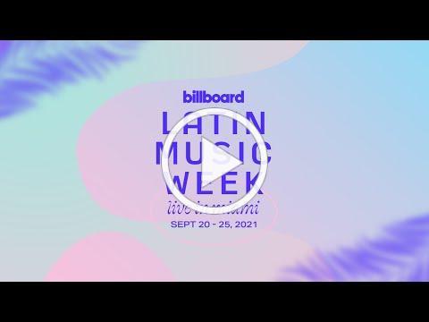 Billboard Latin Week Sizzle