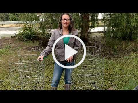 Easy DIY Tomato Cages - Mary's Heirloom Seeds