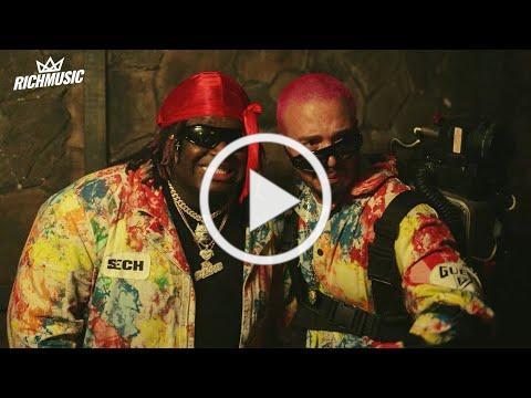 La Luz - Sech, J Balvin (Video Oficial)