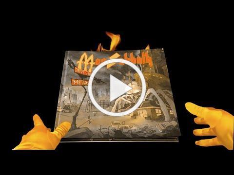 MacSabbath pop up book DRIVE THRU METAL