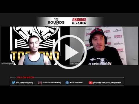 Interview with undefeated Lightweight Manuel Jaimes