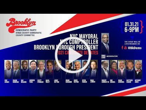 Brooklyn Democratic Party Candidate Debates moderated by Errol Louis
