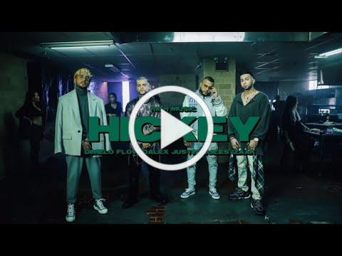 @Rich Music LTD, @Dalex, @Justin Quiles ft. @iZaak, @Dimelo Flow - Hickey (Video Oficial)