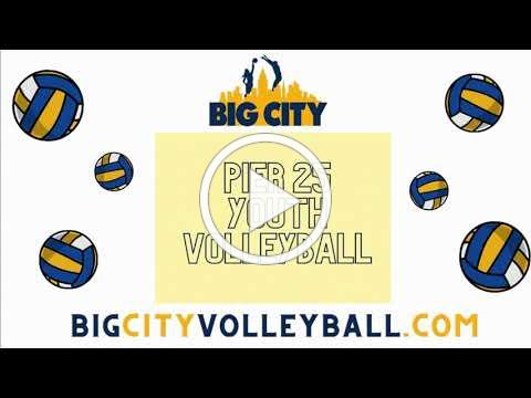 Youth Volleyball at Pier 25
