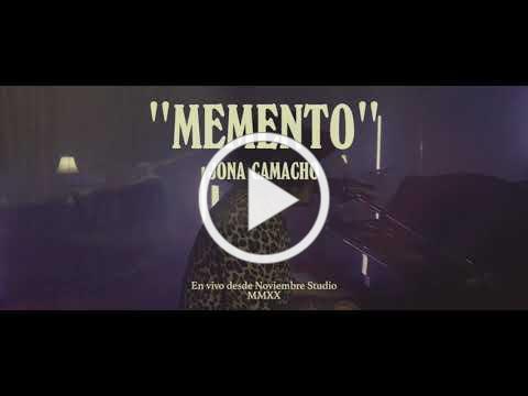 Jona Camacho - Memento (MMXX Session) LIVE