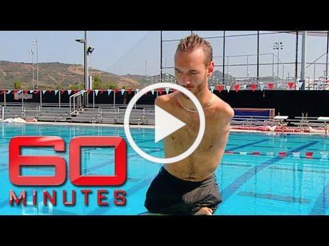 Inspiring man born without arms or legs - Nick Vujicic | 60 Minutes Australia