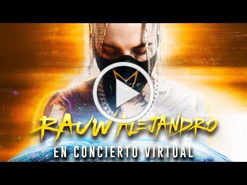 Rauw Alejandro - Concierto Virtual (En Vivo)
