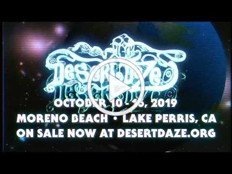 Desert Daze 2019 - First Artist Transmission