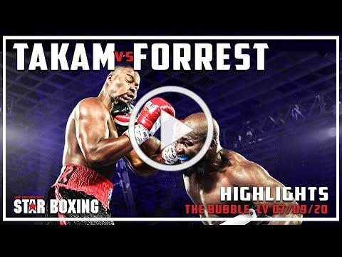 Carlos Takam vs Jerry Forrest (Highlights)