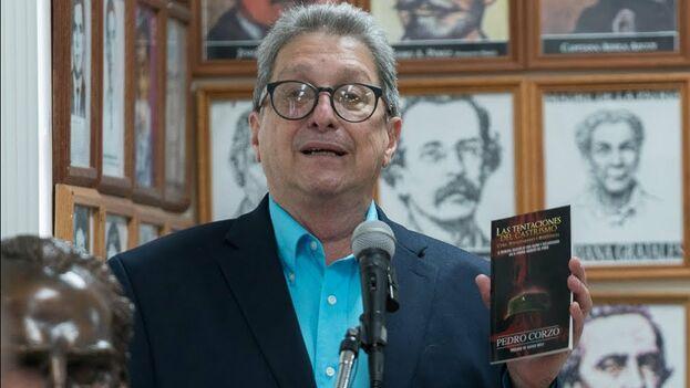 Pedro Corzo, fundador del Instituto de la Memoria Histórica Cubana contra el Totalitarismo. (Cortesía YouTube)