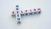 Is it true that people who are stingy are motivated by selfishness?