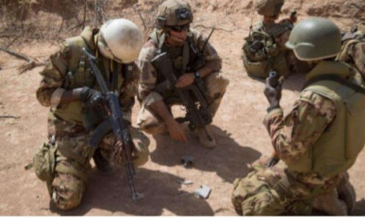 sahel militaire terrain
