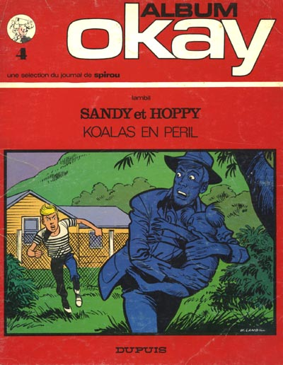 Couverture de Sandy & Hoppy -0- Koalas en péril