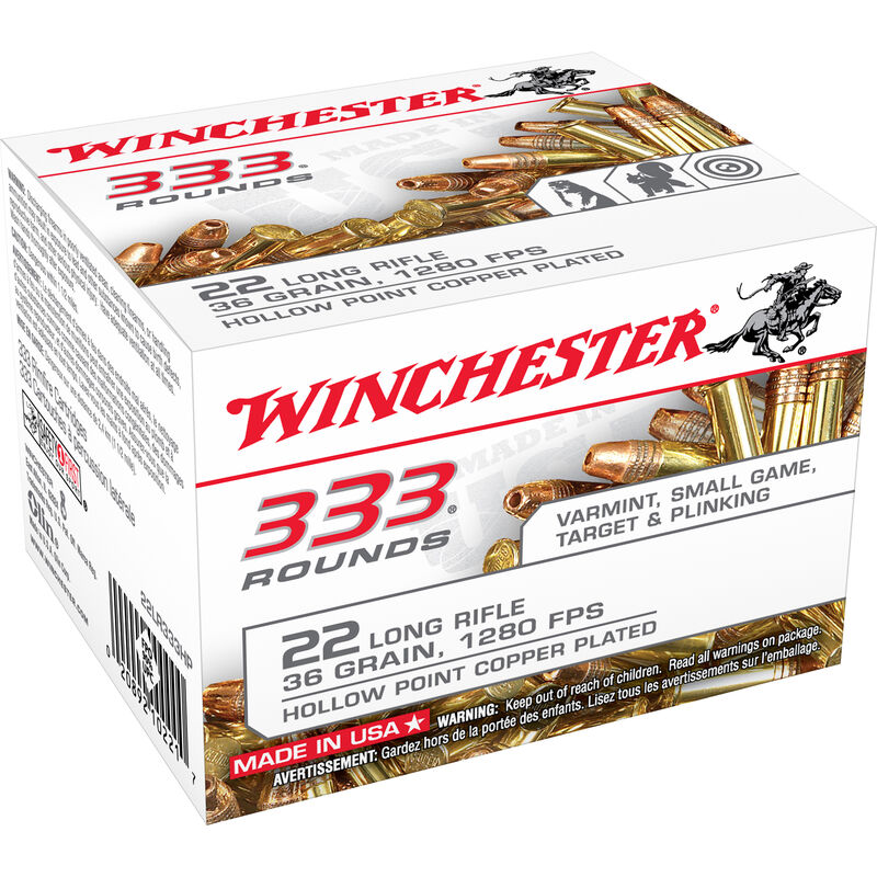 Winchester .22 LR 333 Rounds