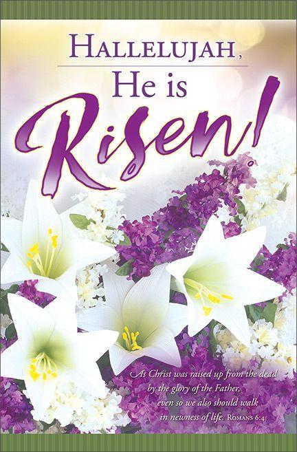 Bulletin - Hallelujah, He is Risen!