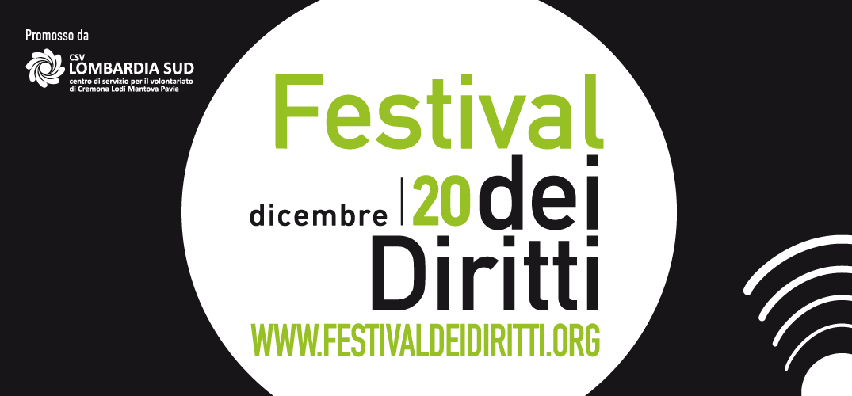 """""""LA CURA"""", online il programma del Festival dei Diritti"""