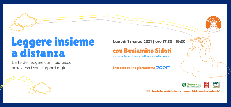 Leggere insieme a distanza. Incontro con Beniamino Sidoti