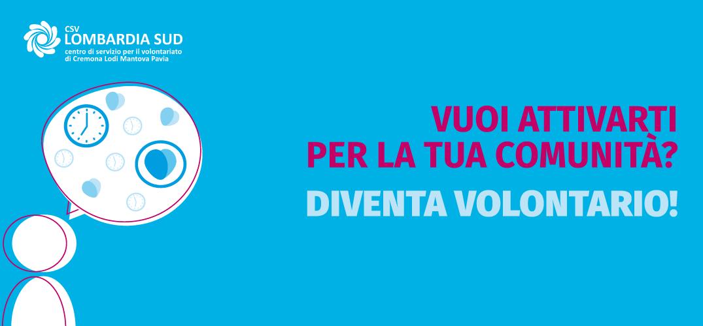 Nuovo servizio: richiedi con MyCSV un orientamento al volontariato a CSV Lombardia Sud