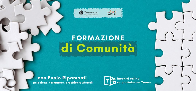 La cultura della collaborazione: continua l'11 maggio la Formazione di Comunità