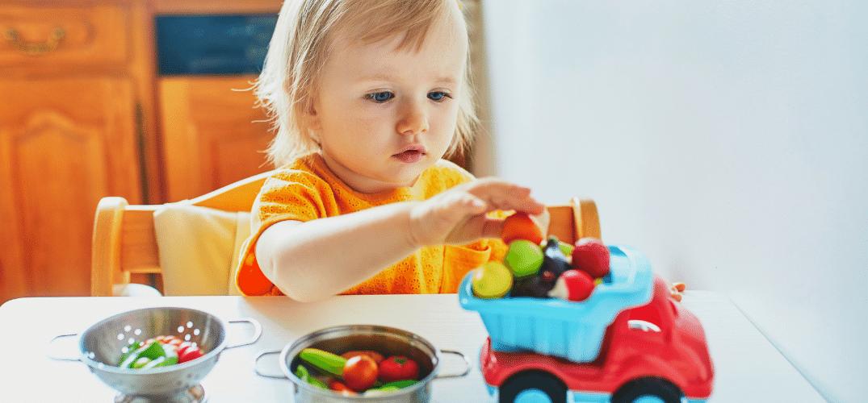 Organizzare giochi per bambini 0-3 anni. Come?