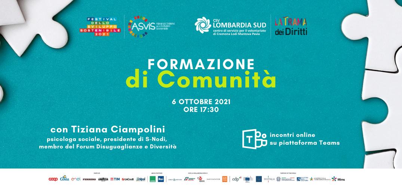 Disuguaglianze, pratiche e politiche per contrastarle: incontro con Tiziana Ciampolini il 6 ottobre