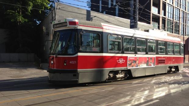 TTC King St. streetcar