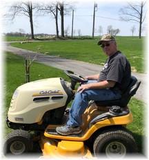 Cub Cadet garden tractor