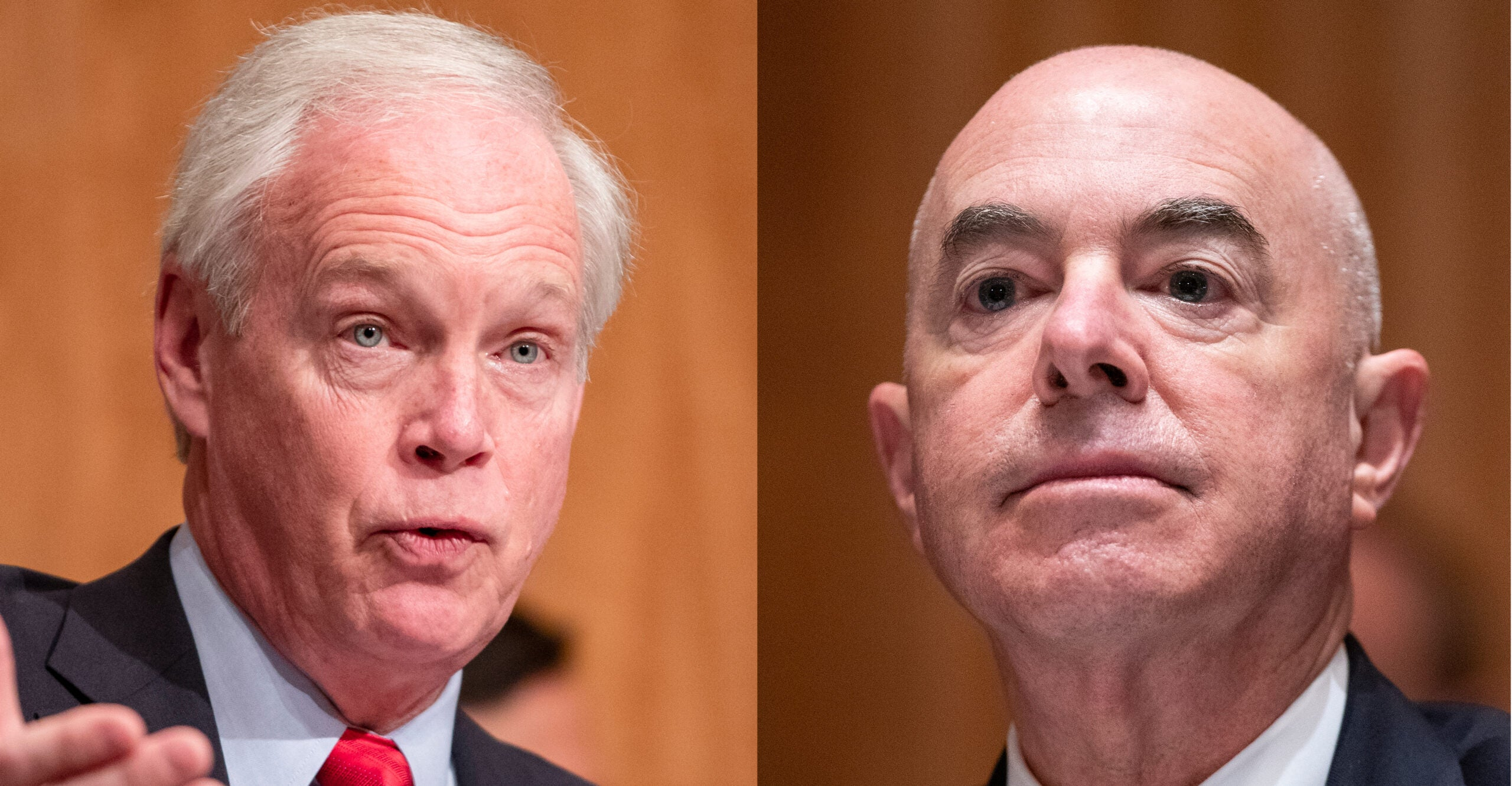 Sen. Ron Johnson Grills Secretary Mayorkas About 'Closed' Borders Claim