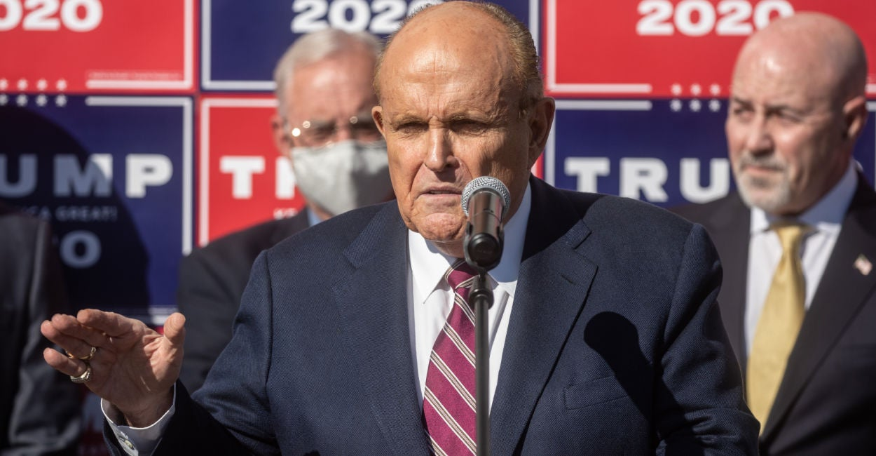 'Networks Don't Get to Decide Elections, Courts Do': Giuliani Announces Lawsuit