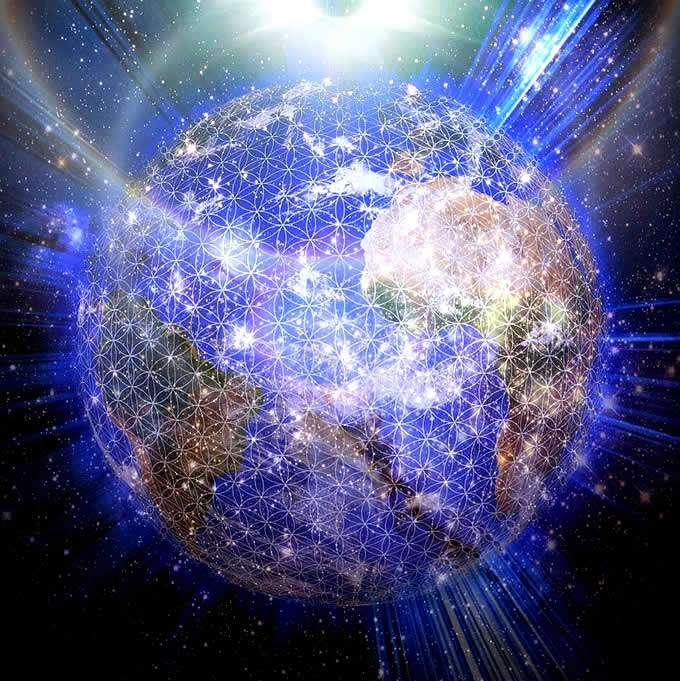 Earth Crystalline Grid