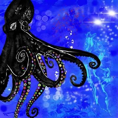 Battles For Earth - Black Octopus Space Virus