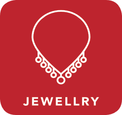 icon of jewellery which is acceptable for recycling